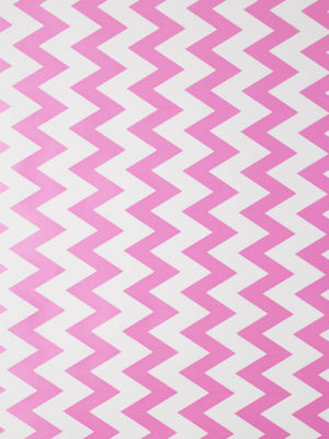 KR225-WHITE-WITH-LOLLY-PINK-CHEVRON-STRIPE-PAPER