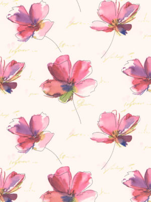 KR40249-RED-FLOWERS-PAPER