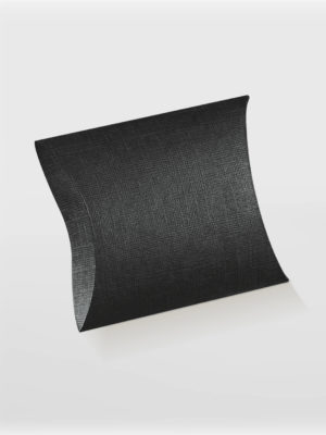 black pillow box