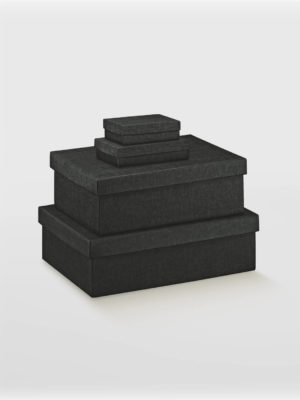 BXF13767-2PC-BLACK-TURED-BOX-WITH-LID