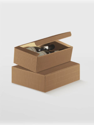 BXF34956-7-WINE-BOX-FLIP-LID-WITH-POP-UP-2-BOTTLE-CORRUGATED-KRAFT