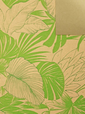 KR0849901-KRAFT-GREEN-TROPICAL-PAPER