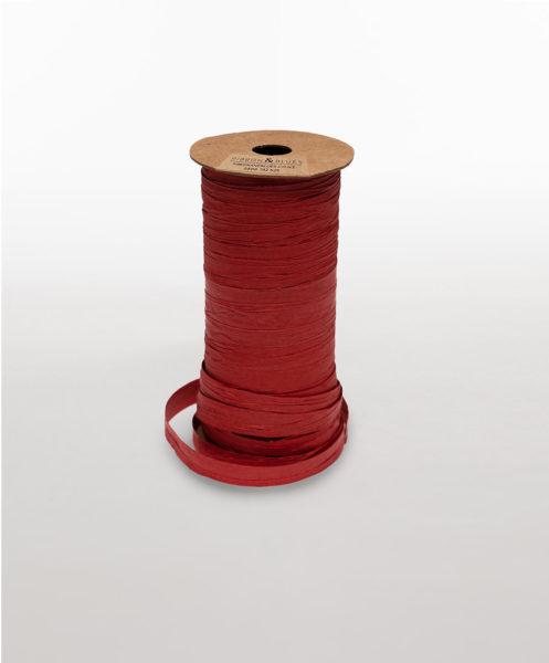 LF01-RIBBON-PAPER-RAFFIA-RED
