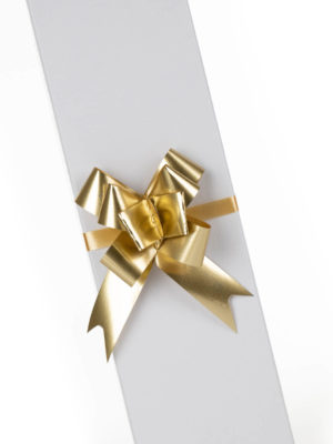PBOW14.GDMT-PULLBOW-MATTE-FINISH-GOLD