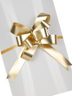 PBOW18.GDMT-PULLBOW-MATTE-FINISH-GOLD