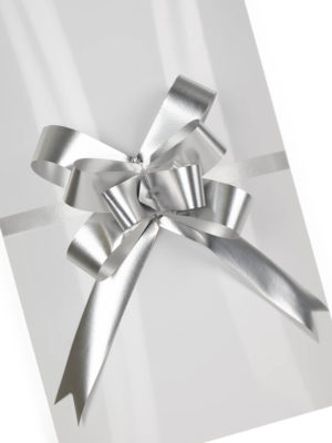 PBOW18.SMT-PULL-BOW-MATTE-FINISH-SILVER